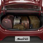 Fiat Grand Siena 2013 fotos oficiais modelo attractive vermelho detalhes do porta malas