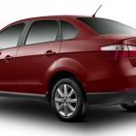 Fiat Grand Siena 2013 fotos oficiais modelo attractive vermelho traseira