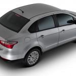 Fiat Grand Siena 2013 fotos oficiais modelo essence prata detalhes carro visto de cima