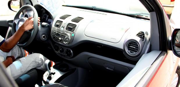 Fiat grand Siena 2013 fotos do interior