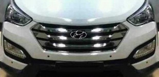 Novo Hyundai terceira geração 2013 frente escultura fluida flagrante