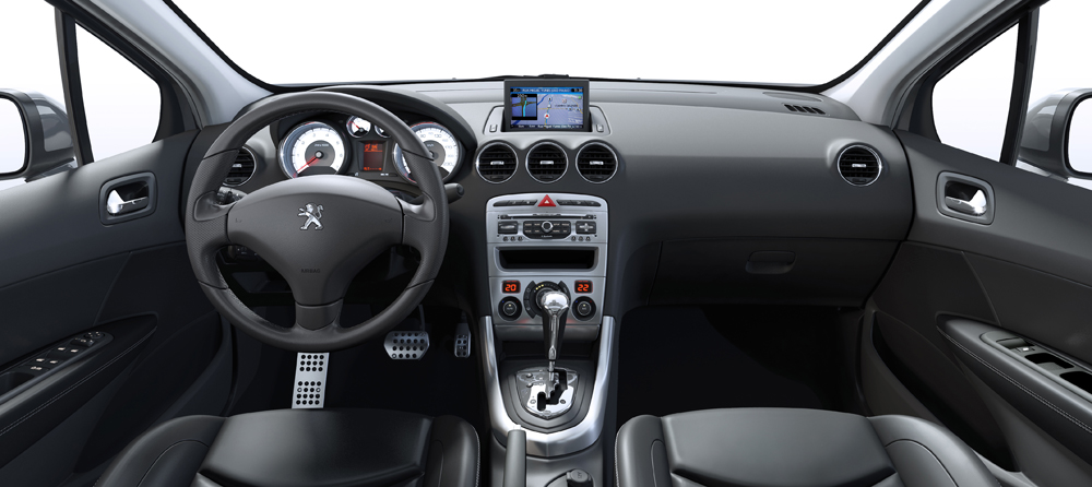 Novo 308 da peugeout j est nas concession rias com mesmo for Interior 408 allure