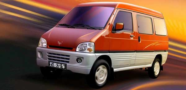 Wuling-Sunshine a van mais vendida no mundo