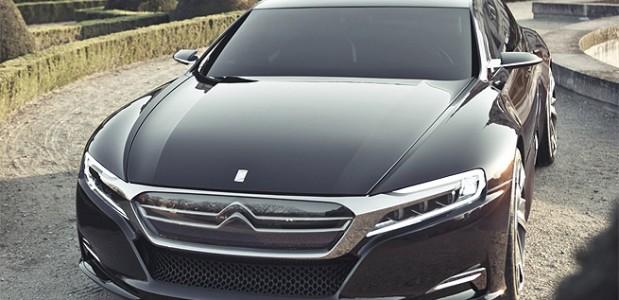 2012 Citroen DS9 que será exposto no salão de pequim frente ampliada