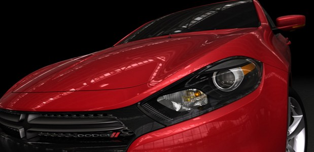 Chrysler dodge dart 2013 detalhe frontal