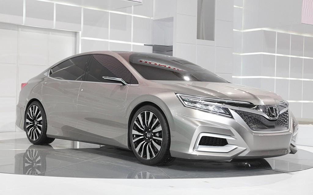 Honda Concept C carro conceito da marca que será visto no salão de pequim 2012 no stand da honda