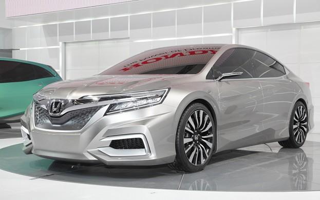 Honda Concept C carro conceito da marca que será visto no salão de pequim 2012 visao frontal