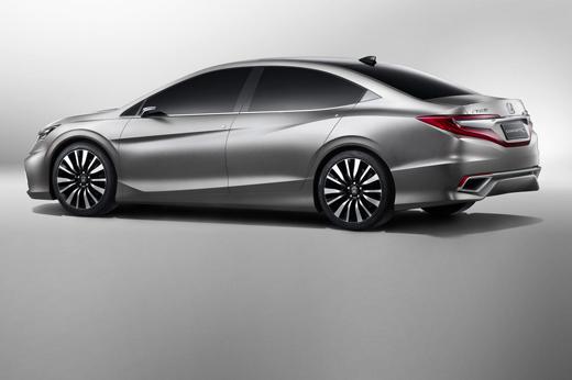 Honda Concept C carro conceito da marca que será visto no salão de pequim 2012