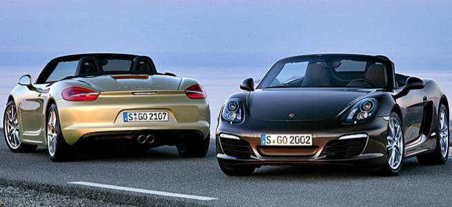 Nova Geração do Porsche Boxster estará no Salão de Pequim e no Salão do automóvel de São Paulo 2012