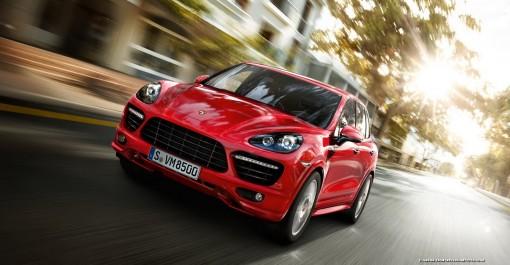 Nova Porsche Cayenne GTS vermelha estará no Salão de Pequim e no Salão do automóvel de São Paulo 2012