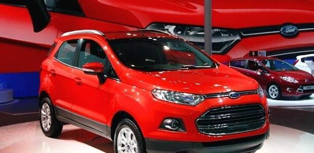 Novo Ford Ecosport imagem oficial novo modelo 2013