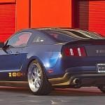 Novo Mustang Shelby com 1115 cavalos da Ford exposto no salão de nova york 2012