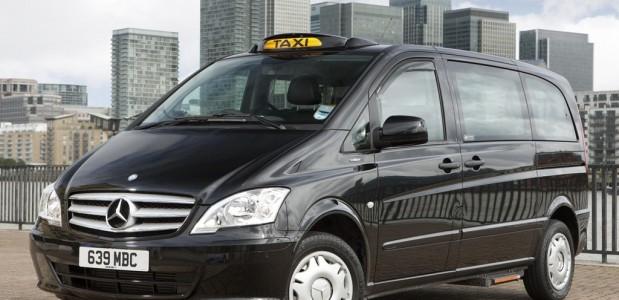 mercedes benz em formato de taxi londrino Euro 5 Vito