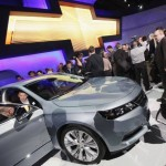 stand montadora Chevrolet no salao de nova york 2012