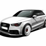 Audi-A1 quattro 2013 terá unidades vendidas no Brasil foto em desenho 23