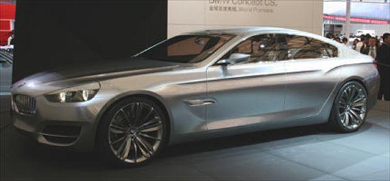 BMW CS Concept 2007 exposta no salão de xangai