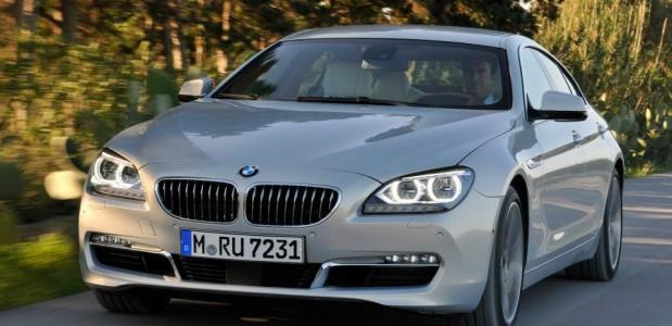 BMW Série 6 gran Coupe 640d 2013 modelo prata detalhes da frente foto 8