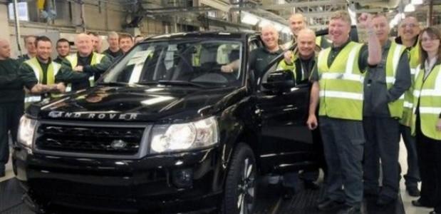 Freelander 2 producao chega a unidade de número 300 mil na fábrica inglesa da Land Rover
