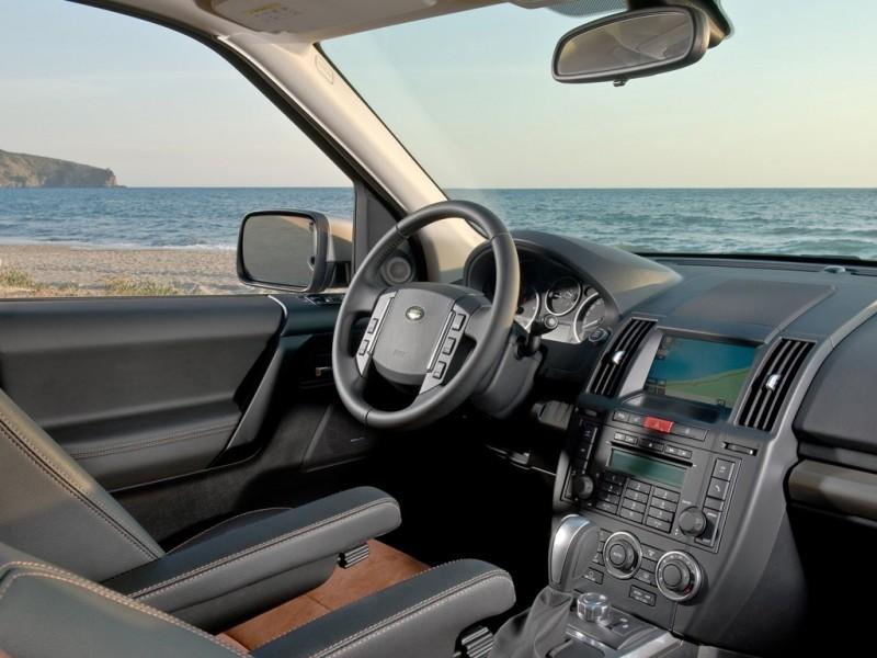 Freelander 2 producao chega a unidade de número 300 mil na fábrica inglesa da Land Rover fotos do interior