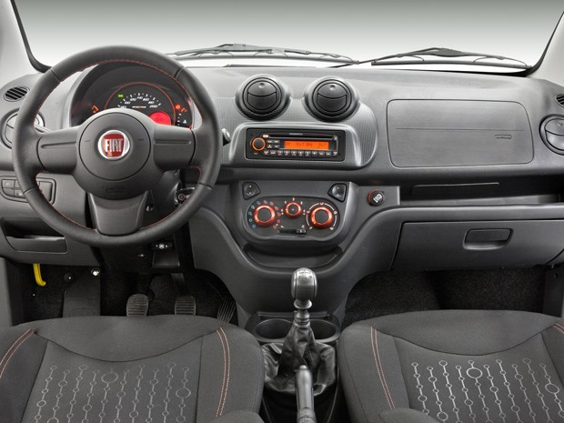 Novo Fiat Uno 2013 terá novos interiores
