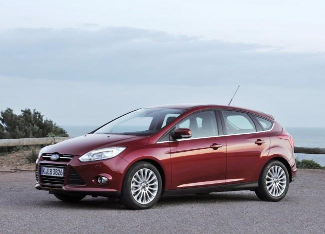 Novo Ford Focus Hatch  2013 que poderá ser visto no salão do automóvel de são paulo frente