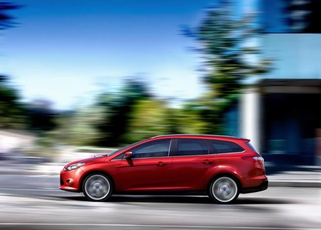 Novo Ford Focus SW 2013 que poderá ser visto no salão do automóvel de são paulo