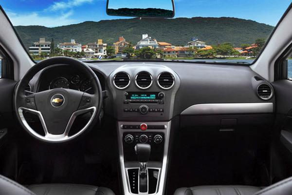 Captiva 2012 fotos do interior do modelo
