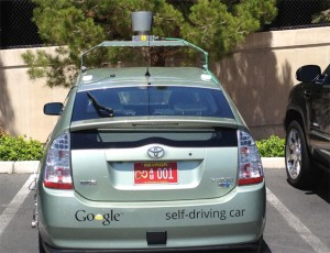 carro do google que roda sem motorista no estado de nevada