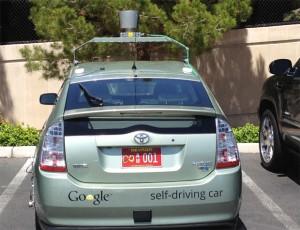 carro do google que roda sem motorista no estado de nevada