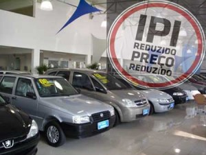 ipi reduzido a 0 para carros mil cilindradas