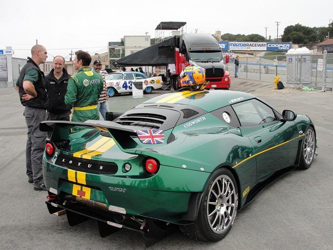 Lotus evora gtc produzido para a equipe  McMahon Raceworks
