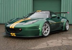 lotus evora gtc carro de corrida da marca