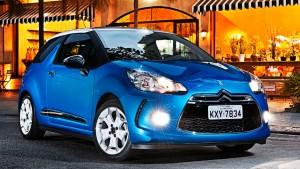 novo citroen ds3 2013 que começa a ser vendido em junho versao brasil cor azul