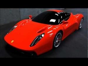 possível imagem da nova Enzo F70 hybrid  renderizada