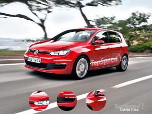 volkswagen-golf-setima geracao será exibida no salão de paris 2012