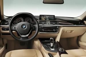 BMW Série 3 2012  6 geracao detalhes do interior
