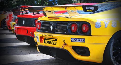 Ferrari-Challenge-Track-dirigindo ferraris