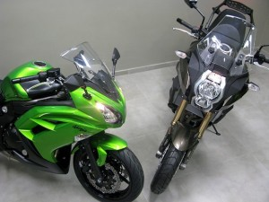 Versys 1000 e Ninja 650, LANÇAMENTO KAWASAKI 2013