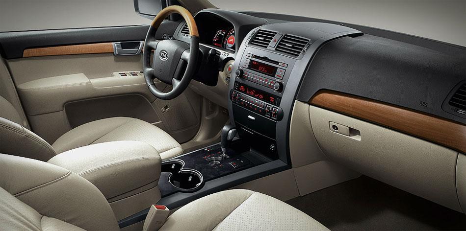 kia_mohave 2013 diesel completa com motor 3.0 e cambio de 8 marchas detalhes do interior