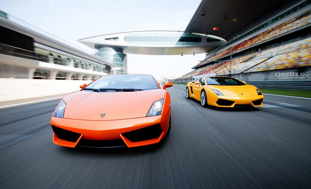 Lamborghinis Super Carros
