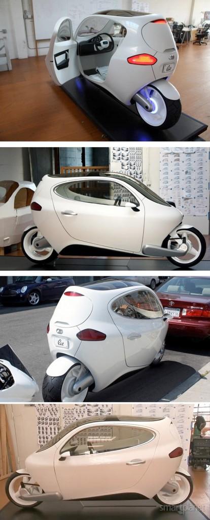 lit motors modelo C1 2014 carro de duas rodas elétrico