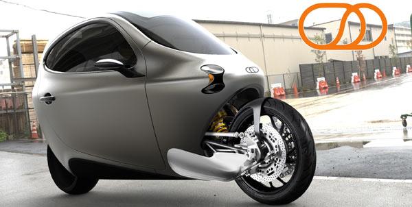 Lit motors modelo C1 2014 carro de duas rodas elétrico detalhes 3
