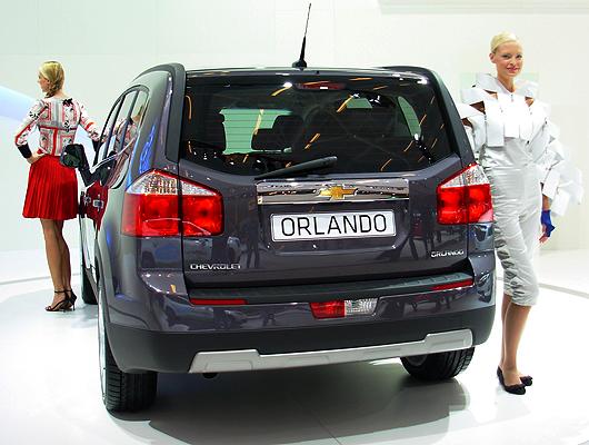 Orlando da Chevrolet vendida em portugal 2012