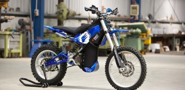 02-Pursuit-Moto movida a ar comprimido protótipo