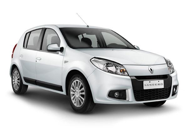 A marca Renault já divulga os lançamentos do novo Sandero e Logan 2013