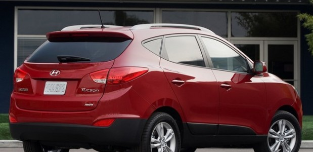 2012 Hyundai Tucson Rear Side
