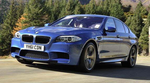 Frente da Quinta Geração da Nova BMW M5 2012 que será lançada em outubro