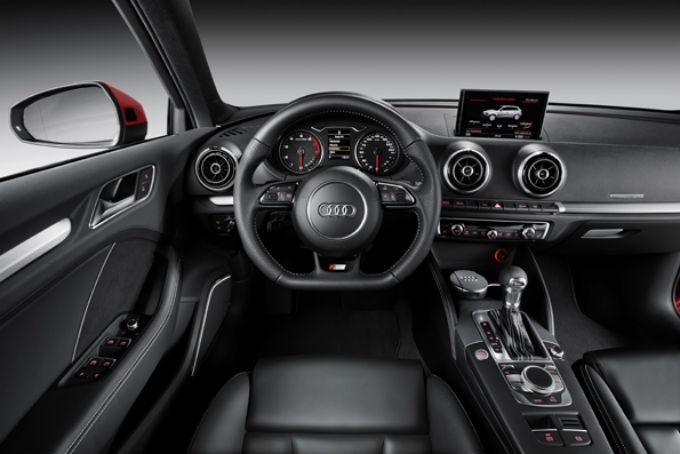 Audi A3 Sportback Salao de Paris 2012 e Salão de São Paulo fotos do interior