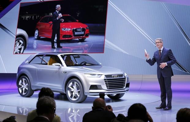 audi q2 menor compacto SUV salao de paris 2012