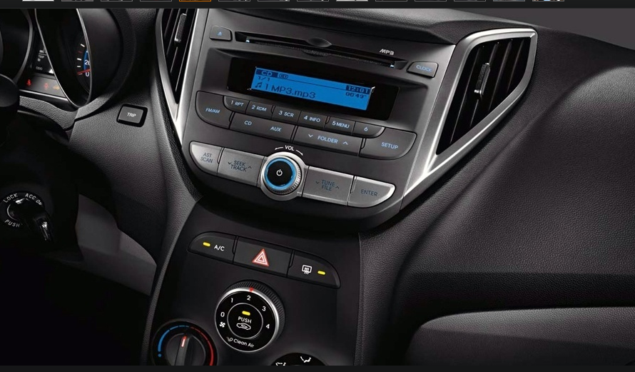 Lançamento Hyundai HB20 Áudio Double DIN